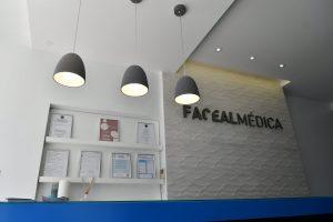 recepção dentista facealmedica
